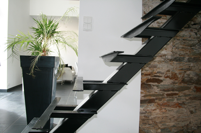 Le blog de la long re for Escalier fait maison