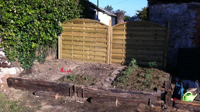 Le blog de la long re cr ation d un jardin pour ma - Creation petit jardin ...